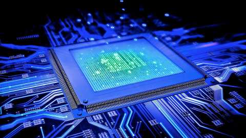 Microprocessor Artwork